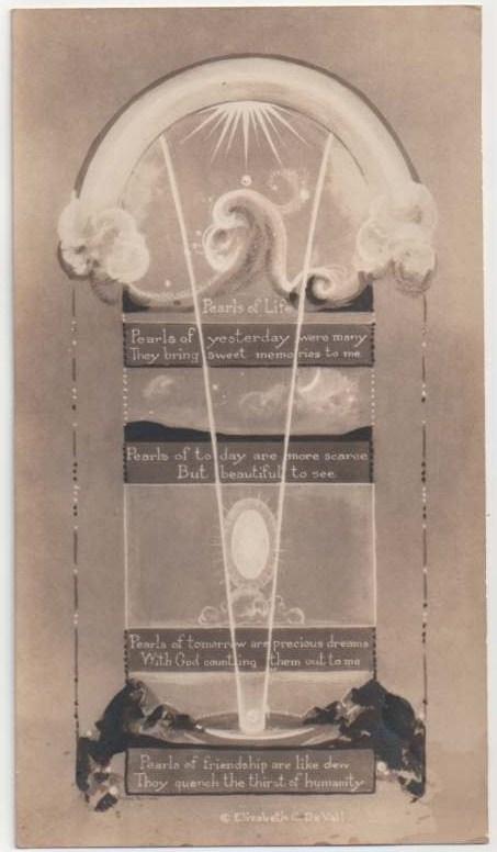 Agnes Pelton card