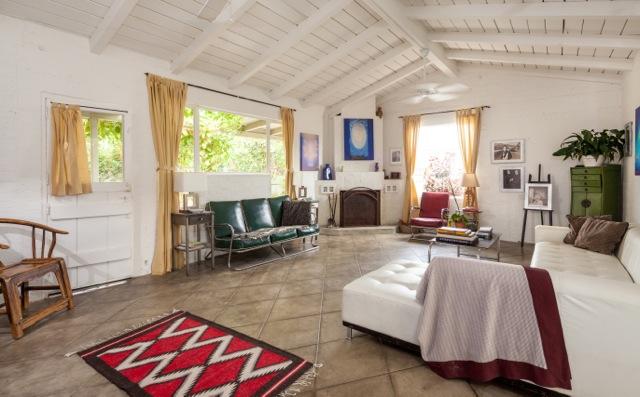 Agnes Pelton home by Mark Davidson