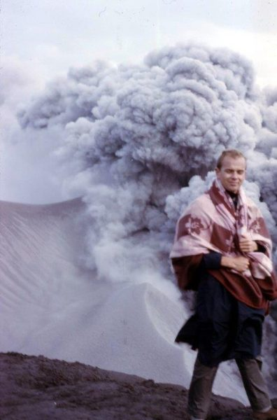 Arne Trettevik on Irazu