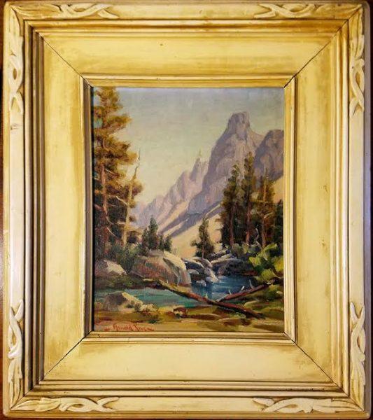 Arnold Krug, Bishop Creek, High Sierras, 1938.