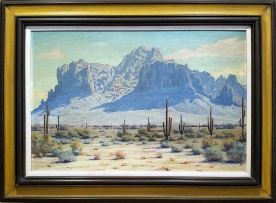 Arnold Krug, Superstition Mountains