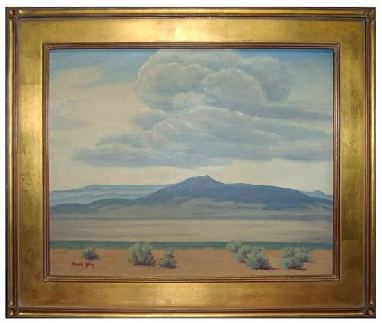 Arnold Krug, Servilleta Mountains, Taos, New Mexico. The Picerne Collection.