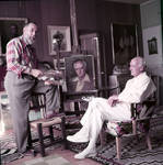 Axel Linus (standing) courtesy of Palm Springs Historical Society