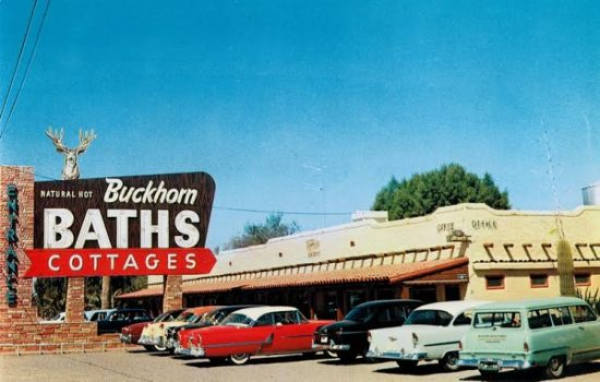 Buckhorn Baths postcard