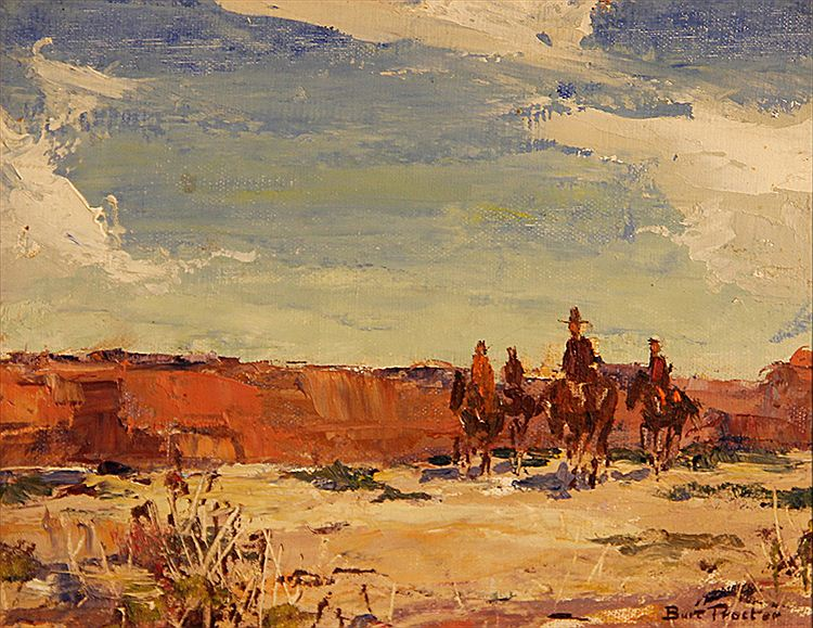 Burt Procter, Four Riders