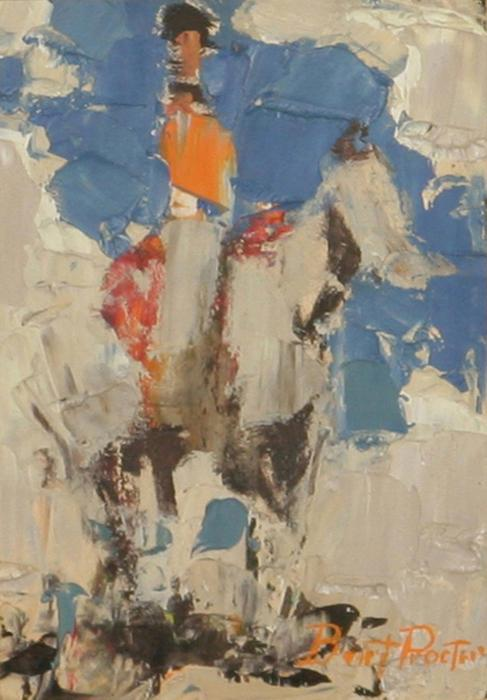 Burt Procter, Study for Horse and Rider