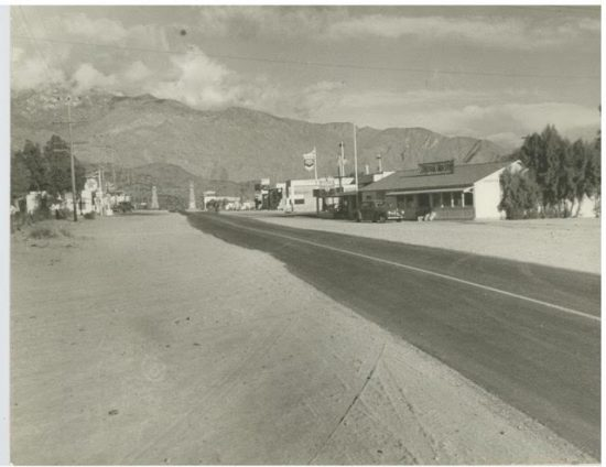 Cathedral City's downtown.