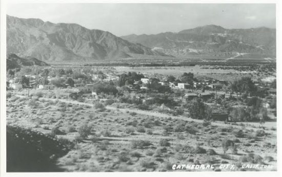 Cathedral City had only about 100 full-time residents when Billy and Chan lived there.