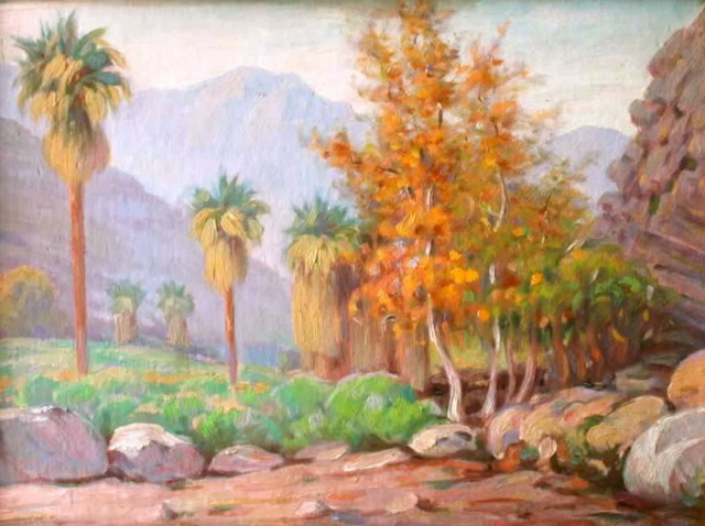 Andreas Canyon, 1937