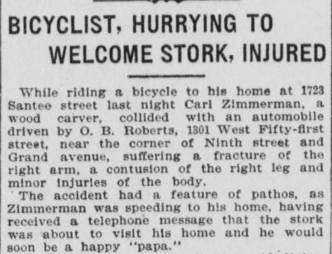 CZ bike accident