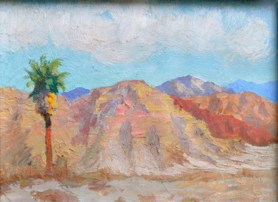 Cabot Yerxa's desert, courtesy of Cabot's Pueblo Museum