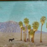 Cabot's painting of Seven Palms oasis. Courtesy of Cabot's Pueblo Museum.