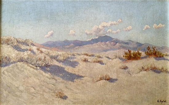 Carl Eytel, Sand Dunes Near Palm Springs