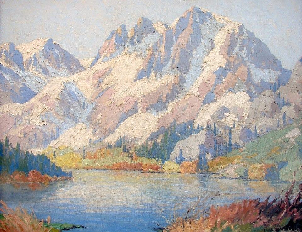 Carl Sammons, Lake in Eastern Sierra
