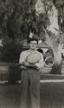 Carl in 1936, shortly after arriving in California.