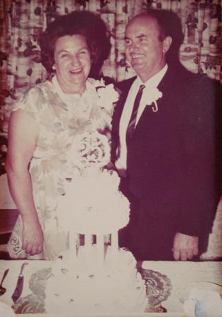 Luella and Carl's wedding