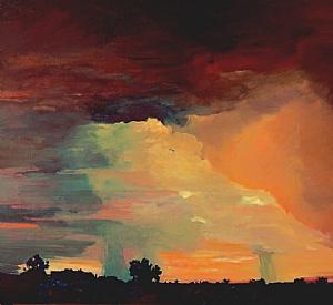 Carol Lindemulder, Sky Watching Borrego Sunrise