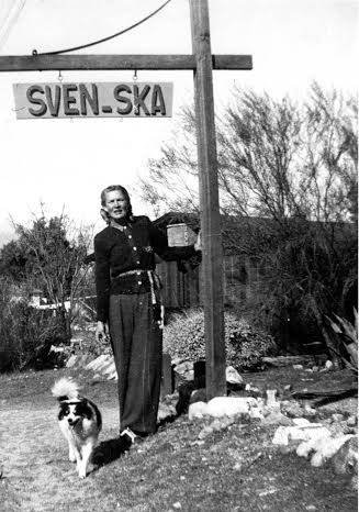 Christina Lillian at Sven-Ska, approx. 1940