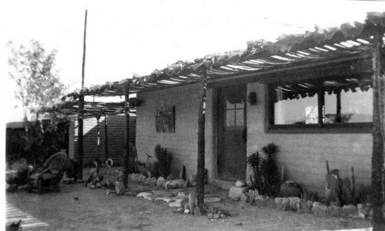 Christina Lillian's bungalow at Sven-Ska