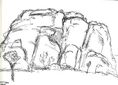 Cyclops Rock, Joshua Tree