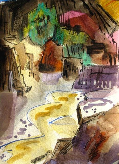 Marsha Rebstock, Artist Palette