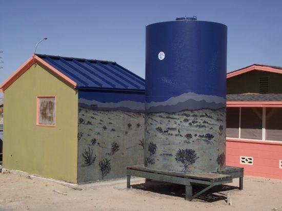 David Greene tank mural 2