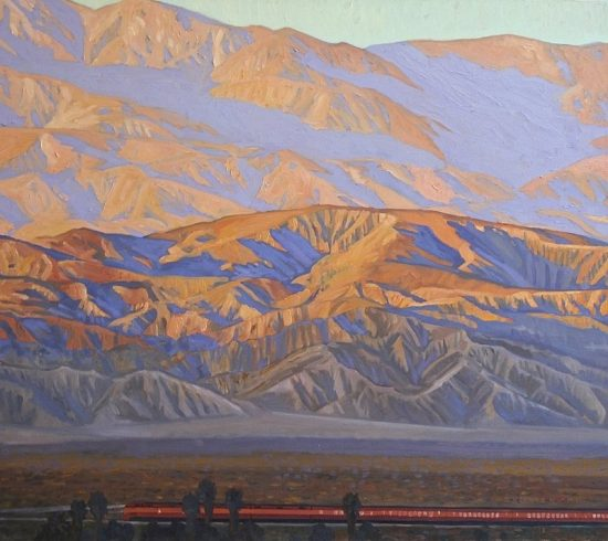 Dennis Ziemienski, Sunset in Coachella Valley