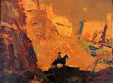 Don Shreves, Lone Rider