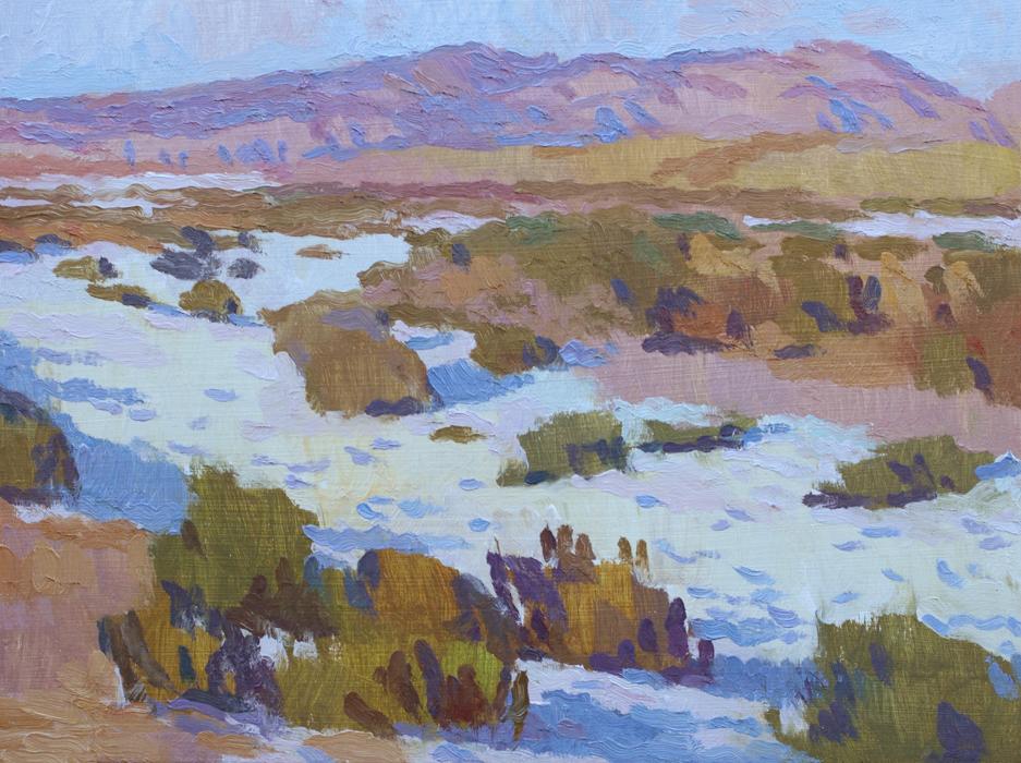 Eric Merrell, Carrizo Salt Plains