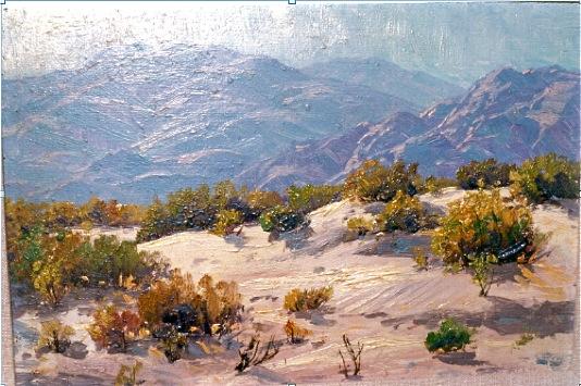 Grace Hall Hemingway desert