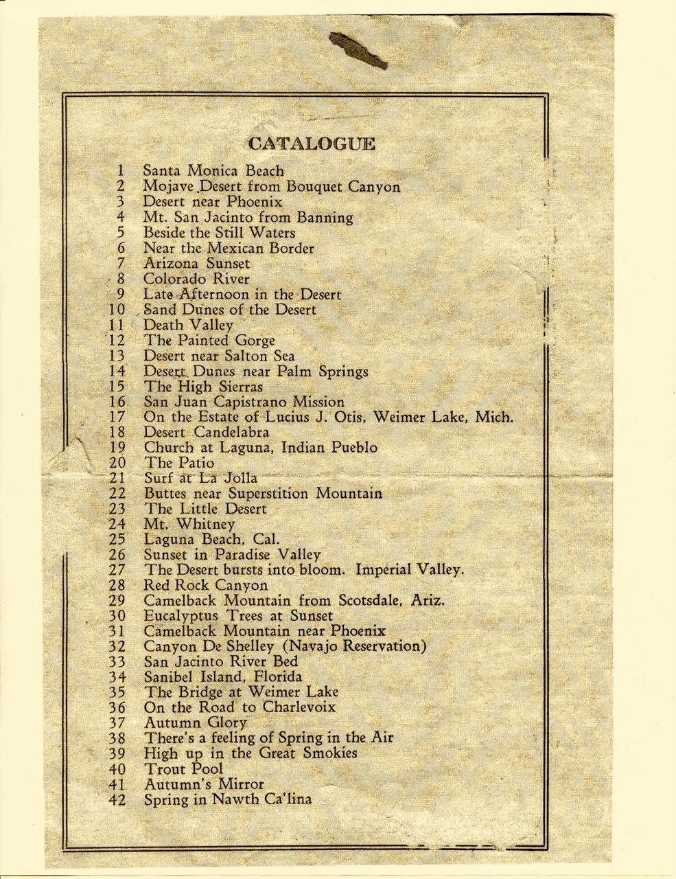 Grace Hall Hemingway exhibit, 1921
