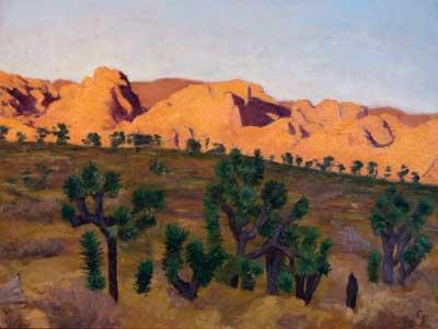 Sunset, Lost Horse Valley, Joshua Tree