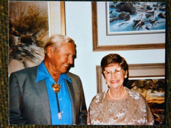Eleanor Hurst and Olaf Wieghorst