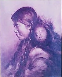 Irene Scoggin Bertrand portrait