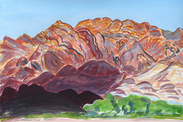 Janet Morgan, Furnace Creek Sunset