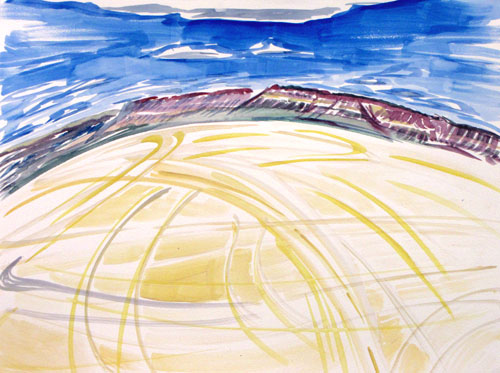 Janet Morgan, The Playa, Alvord Desert, Oregon