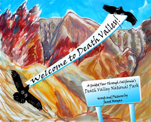 Janet Morgan's children's book on Death Valley