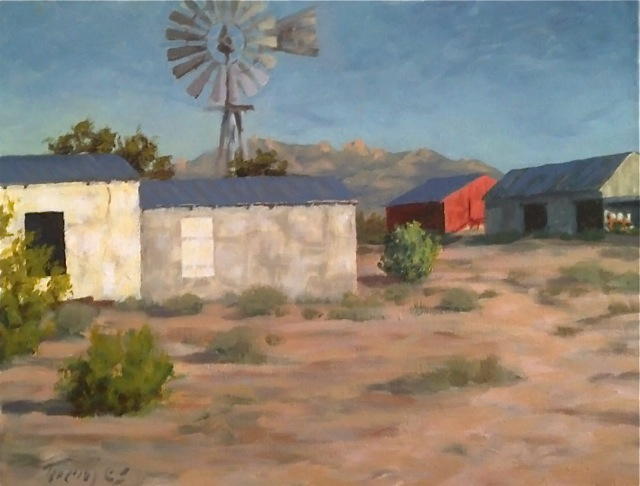 Toenjes on the Mojave, Eytel's Canteen, Water Tank Art and More