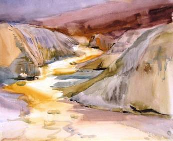 Artist Palette Canyon by Sharon Rawlins