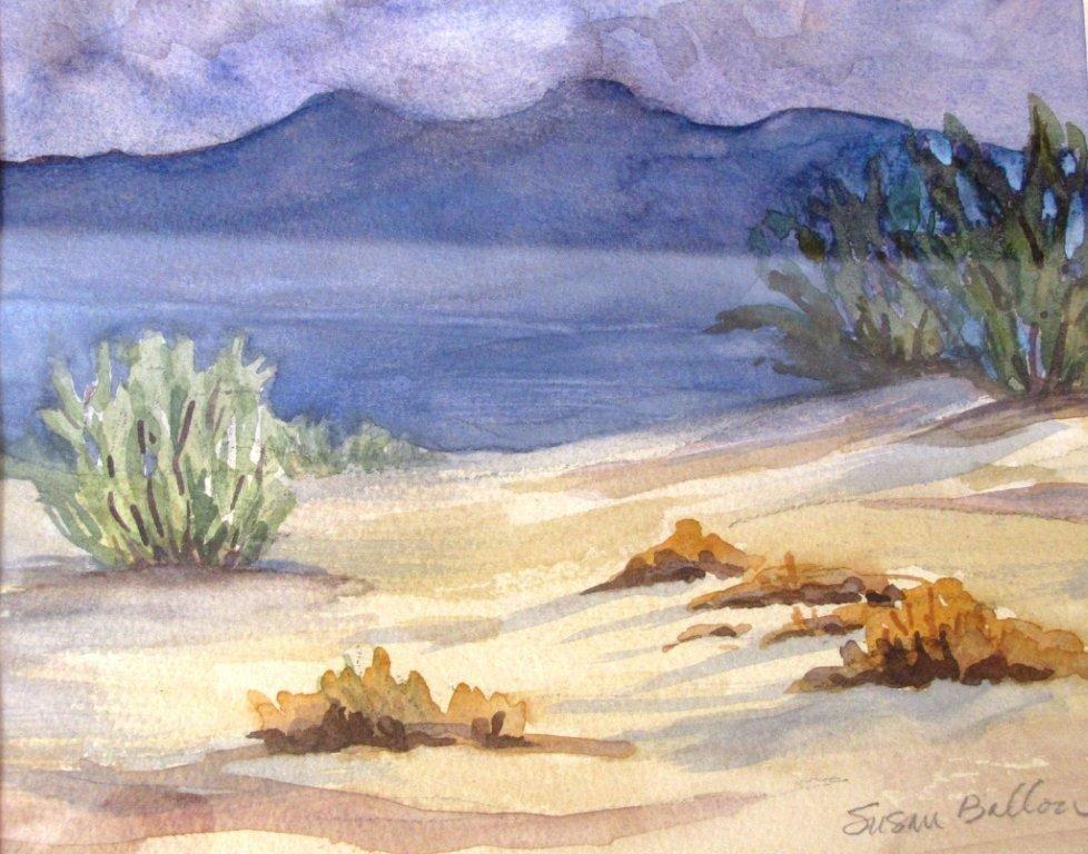 Mesquite Sand Dunes by Susan Ballou