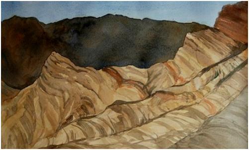 Zabriskie Point by Susan Ballou
