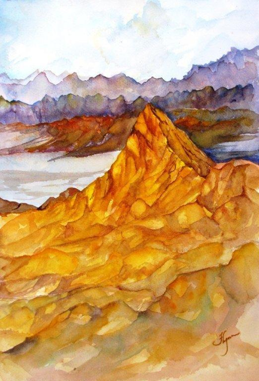 Zabriskie Point by Marianne Flynn