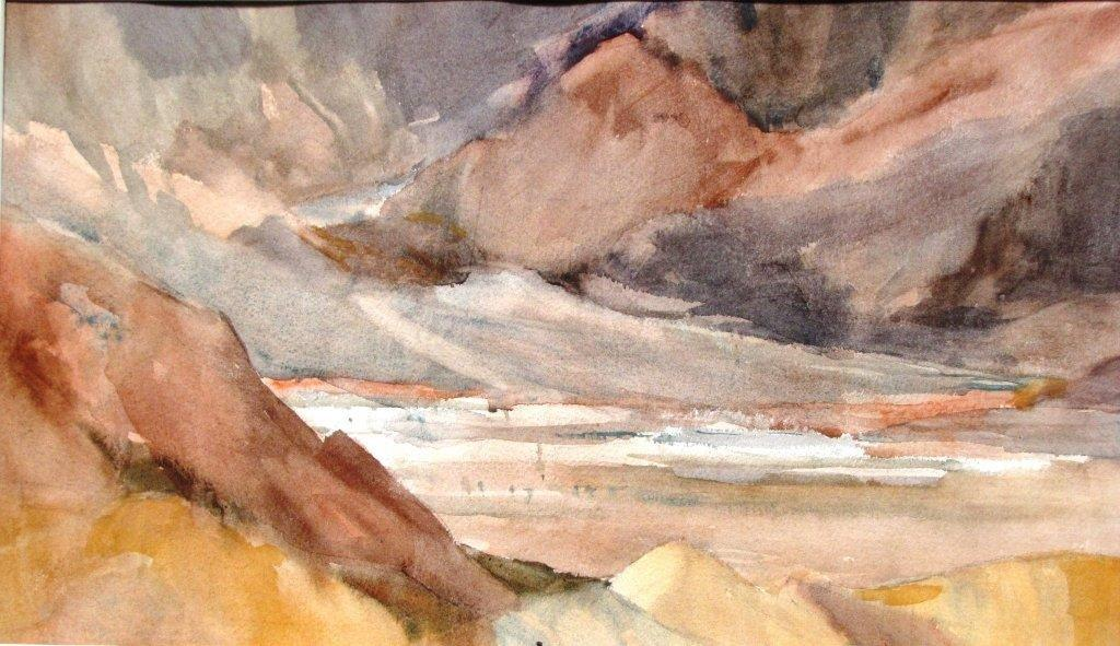 Zabriskie Point by Sharon Rawlins