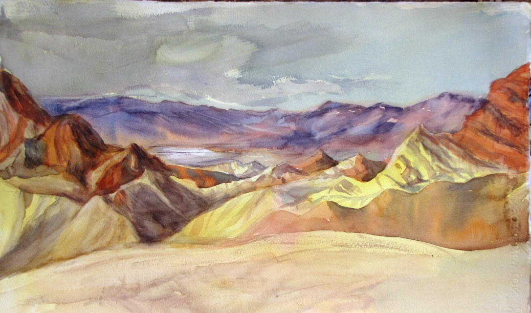 Zabriskie Point by Anne Wilson