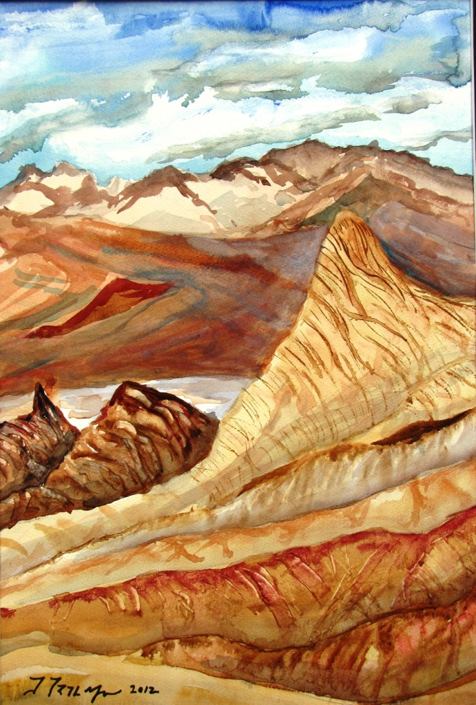Zabriskie Point by Jim Trolinger