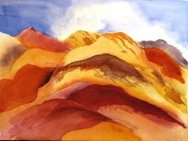Artist Palette by Ruth Merkle