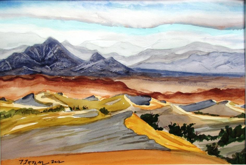 Mesquite Sand Dunes at Sunrise by Jim Trolinger