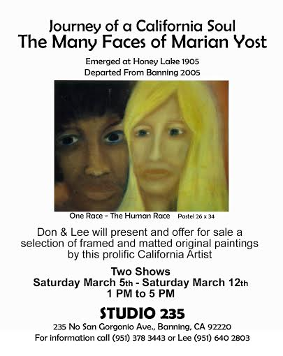 Marian Yost poster