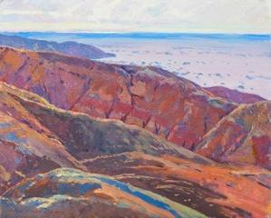Mark Kerckhoff, Desert Canyon Near Salton Sea