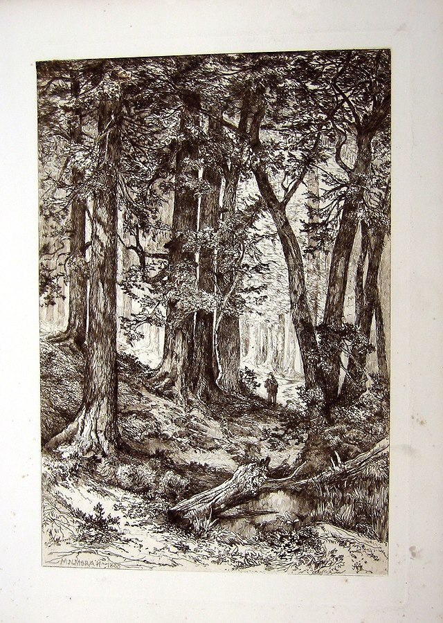 Etching by Mary Nimmo Moran